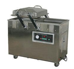 江西厂家直销600型食品大米双室真空包装机不锈钢外壳