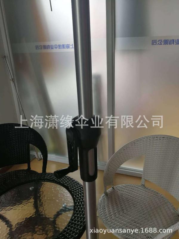LED太陽能遮陽傘、鋁合金中柱傘、戶外太陽能庭院傘