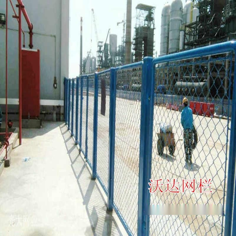 供应厂区隔离栅铁丝隔离网围墙隔离护栏喷塑编织围栏
