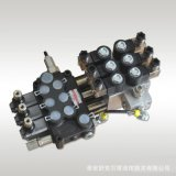 DCV40-3联手动电液控两用多路换向阀-DC12V