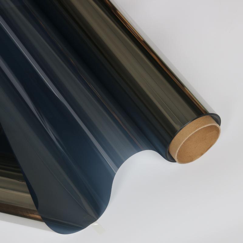 銷售陽光房玻璃隔熱膜防曬膜深鉑色鏡面單向隔熱膜