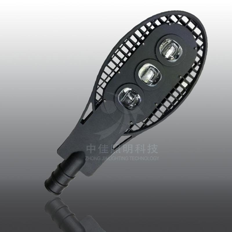 led路灯 150w压铸集成路灯椭圆网拍路灯外壳