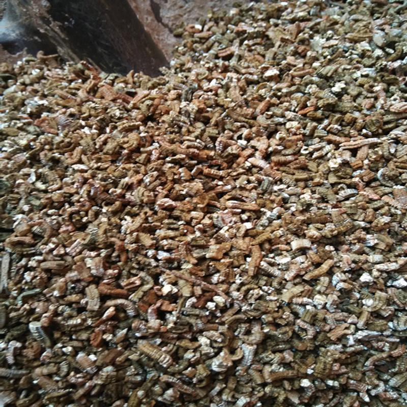 供應廣州花卉金黃色蛭石 無土栽培蛭石六大特點
