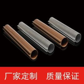 大型專用型材鋁圓通吊頂裝飾天花鋁圓管裝飾批量訂購