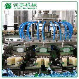 苏州厂家直销碳酸饮料皇冠盖灌装机,玻璃瓶碳酸饮料灌装机