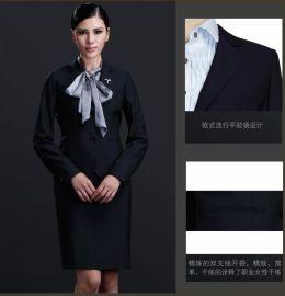 赣州市女士西服职业套装行政装办公室制服