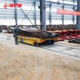 起重机配套130吨铅包轨道车 喷漆房过跨电瓶车
