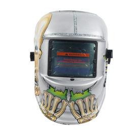 头戴式太阳能自动变光电焊面罩