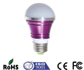 广红牌4W LED球泡灯E27接口铝合金散热