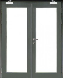 防火玻璃鋼框門