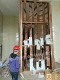 高端订制新款不锈钢制品屏风门餐厅分隔装饰隔断