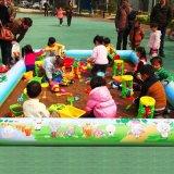 小白云充气水池决明子沙滩池充气游泳池儿童玩具广场玩具充气滑梯充气蹦床充气城堡等