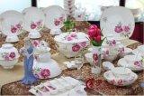 景德鎮高檔70頭陶瓷食具