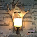 厂家直销玛斯欧鹿角壁灯扁鹿角MS-W2007美剧酒吧吧台客厅墙壁装饰艺术设计LED壁灯