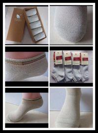 供应银纤维护理袜.银纤维抗菌保健袜.银纤维袜子