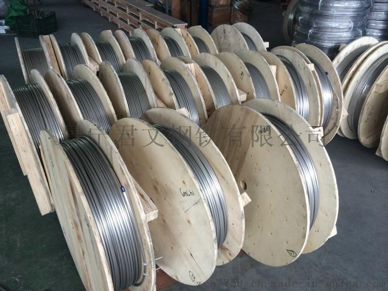 超长冷拔不锈钢无缝盘管