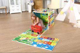 泰山神童拼接垫地垫 加厚爬行垫 XPE  童益智爬爬垫 折叠方便收纳