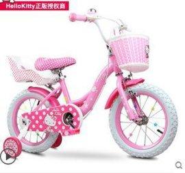 hello kitty 儿童自行车