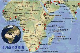 青岛到东非西非南非北非海运集装箱拼箱开顶框架散杂货