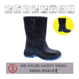 欧洲标准 防滑防穿刺防静电劳保鞋 高筒安全鞋 工作鞋