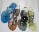 PVC水晶鞋