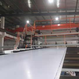 PVC装饰片材/防大理石板材挤出生产线