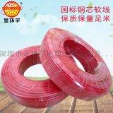 金环宇电线电缆BV 1.5mm2厂家批发 家装bv单芯单股硬线