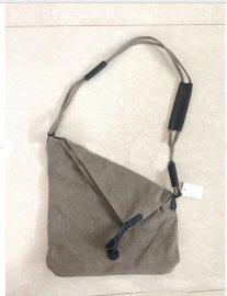 外贸德国原创帆布包女包拉链单肩帆布包, 斜挎两用包