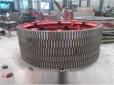 徐州建奎HXT铸钢热处理活性炭转炉大齿轮