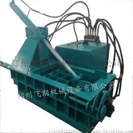 厂家直销 金属压块机 200吨废旧金属液压压块机