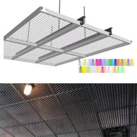 2.0厚鋁板拉伸網 白色鋁板網吊頂廠家