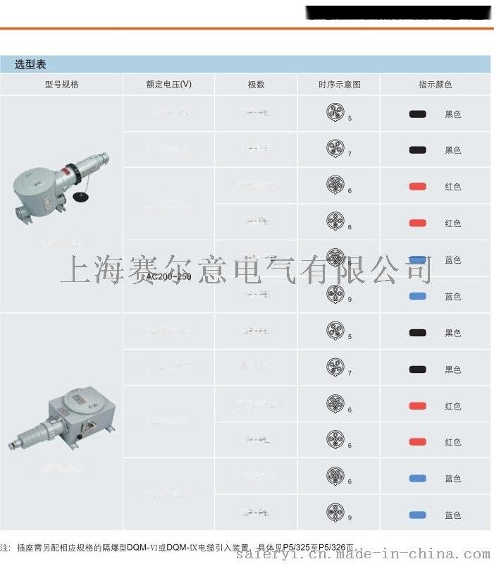 BCZ85-16A 防爆插接装置 防爆插头 插座