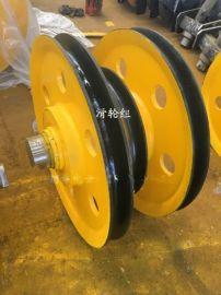 20t轧制滑轮组,材质铸钢、灰铁、轧制,起重机滑轮组,滑轮组图纸,滑轮组价格