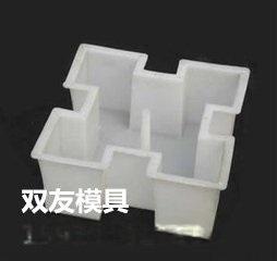 内蒙古实心六角护坡砖塑料模盒