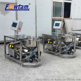 厂家直销 不锈钢剪切乳化水粉配料机WPL-140连续式2.2KW混料机组