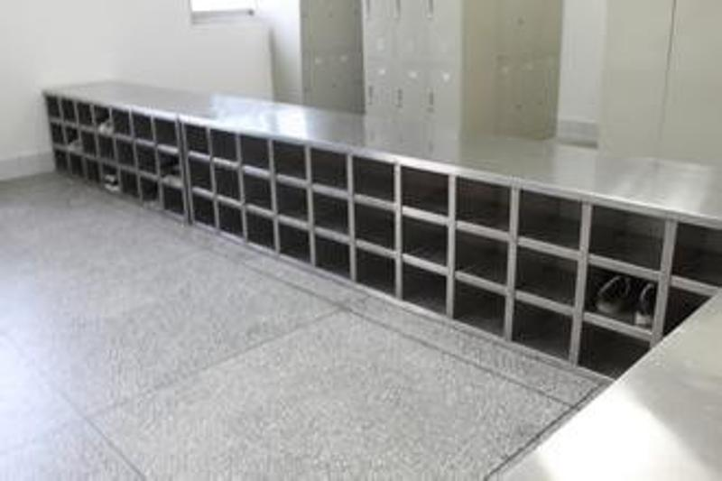 商洛可定做无尘厂家不锈钢更鞋柜价格