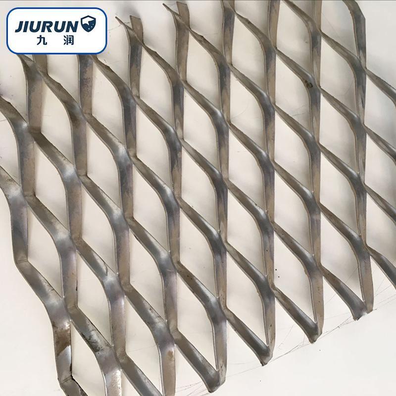 幕墙装饰网  铝板拉伸网  菱形网