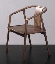 黑胡桃实木书椅书房家具客厅家具餐厅家具