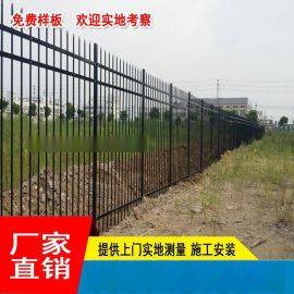 场区镀锌栅栏包施工 肇庆场地护栏厂家直销 惠州工地铁艺梁围栏