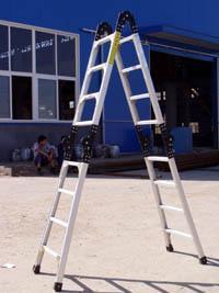 铝合金折叠梯(多功能)