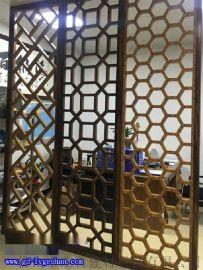东莞铝窗花 专业定做酒店隔断铝屏风 铝窗花型材 铝合金窗花厂家