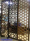 東莞鋁窗花 專業定做酒店隔斷鋁屏風 鋁窗花型材 鋁合金窗花廠家