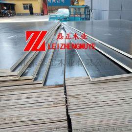 杨木建筑模板 木模板胶合力强耐磨性好山东磊正木业