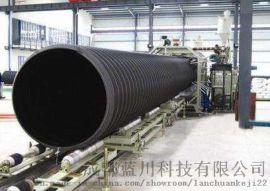 钢带聚乙烯螺旋波纹管 钢带波纹管规格