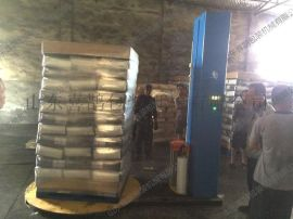 山东化工袋缠膜机 包装紧凑 防潮防尘 山东喜鹊