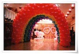 气球拱门广告