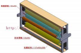 不干胶标签印刷机专用双面除尘轮/粘尘机