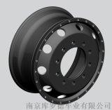 西京掛車升級輪轂鍛造鋁合金9.0輪轂