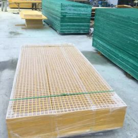 玻璃钢纤维排水格栅板高强度