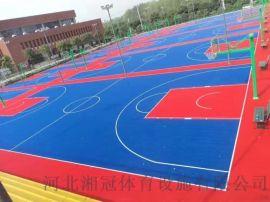 篮球场悬浮地板篮球场拼装地